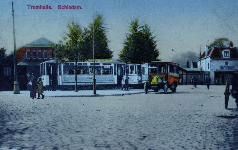 tramlijn 8 Schiedam